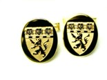 Crest and Coat of Arms Cufflinks
