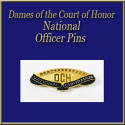 DCH National Officer Pins