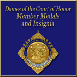 DCH Member Medals and Insignia